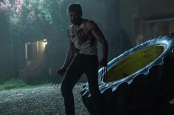Hugh Jackman nei panni di Wolverine in X-Men - Giorni di un futuro passato