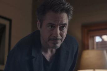 Un'immagine dell'ologramma di Tony Stark