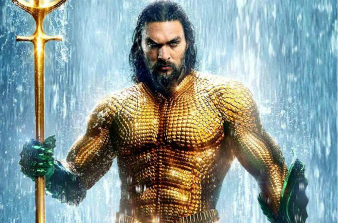 Un'immagine di Jason Momoa come Aquaman