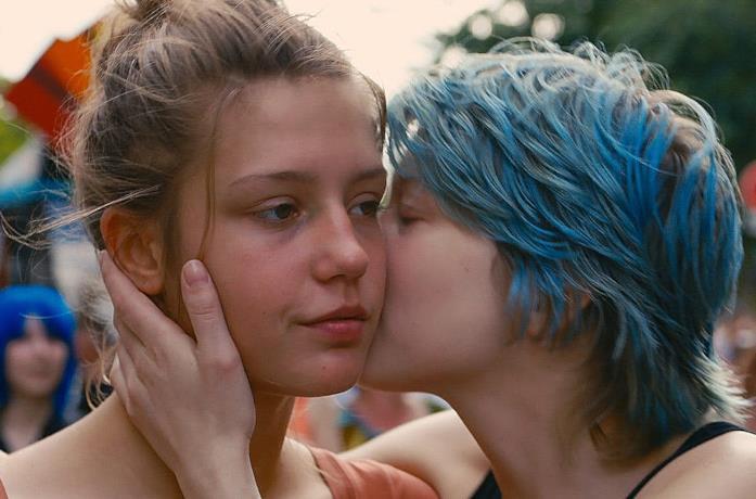 Le due protagoniste del film, Adele ed Emma