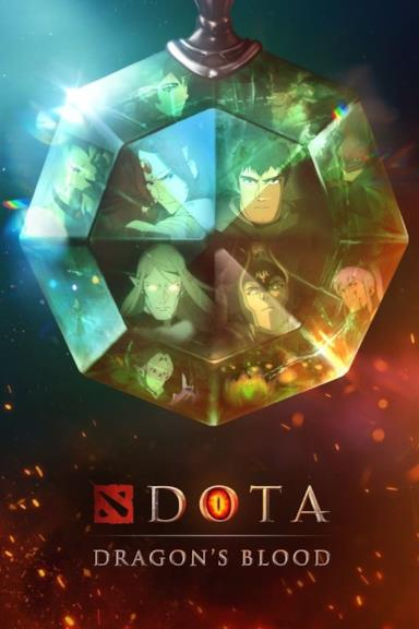 Poster DOTA - Dragon's Blood