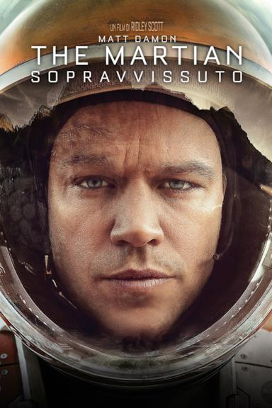 Poster Sopravvissuto - The Martian
