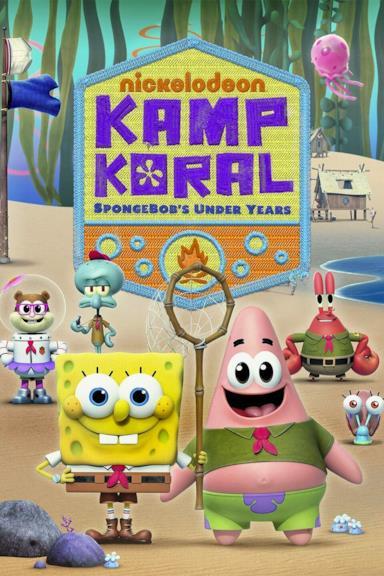 Poster Kamp Koral: SpongeBob's Under Years