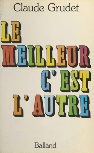 L'edizione francese del libro di Claude Grudet
