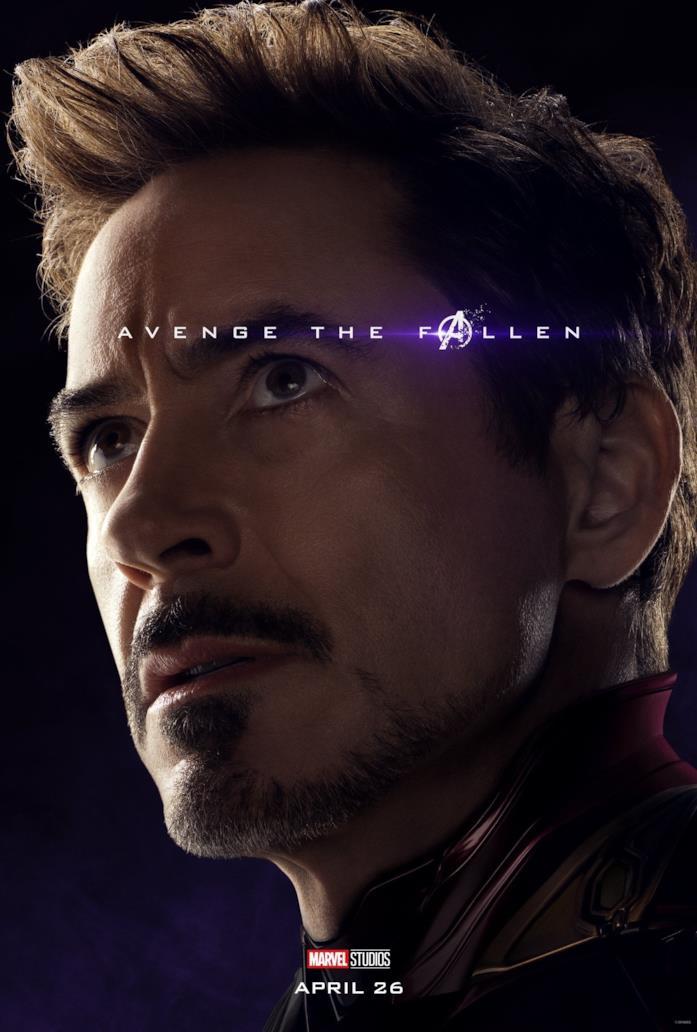 Primo piano di Robert Downey Jr.