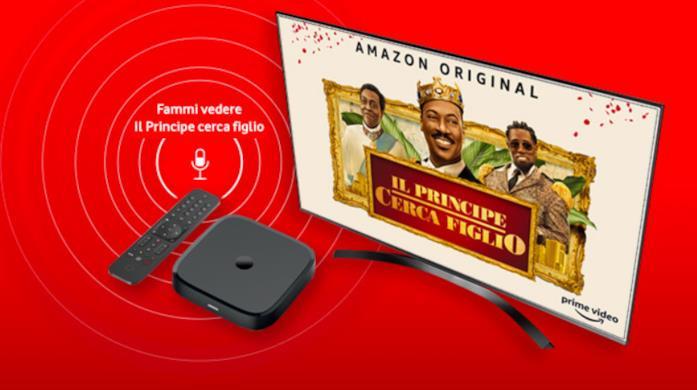 Immagine promozionale di Vodafone TV Box Pro