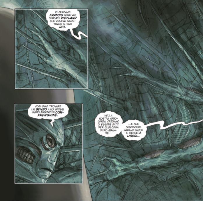 Tavola di Prometheus Omega con Elden