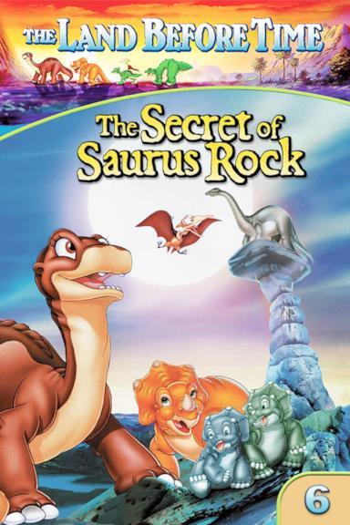 Poster Alla ricerca della valle incantata 6 - Il segreto di Saurus Rock