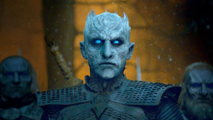 Il Night King nell'episodio 8x03, The Long Night
