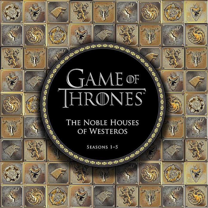 Il libro dedicato alle Case di Westeros