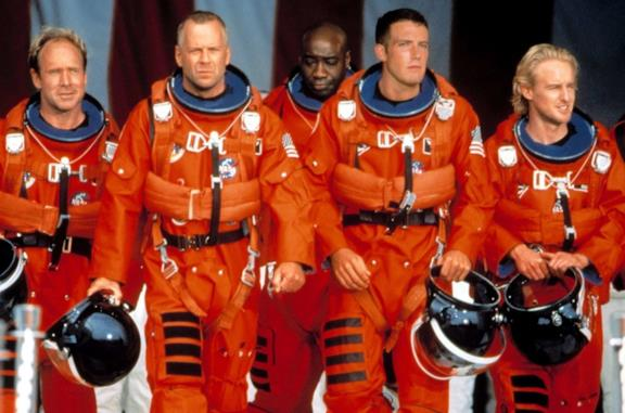 Il cast del film Armageddon - Giudizio finale