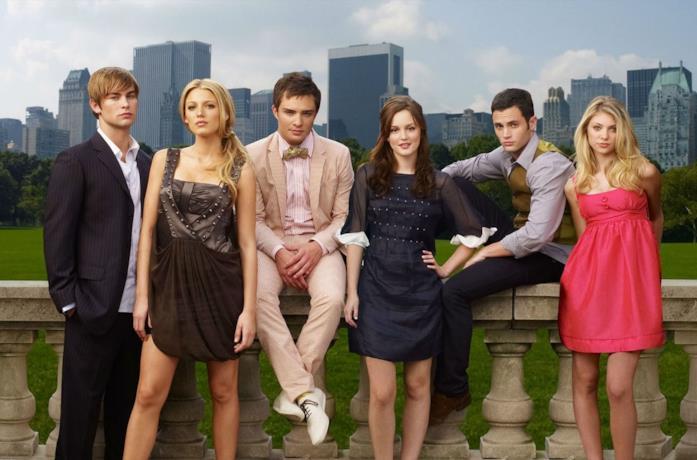 Il cast di Gossip Girl