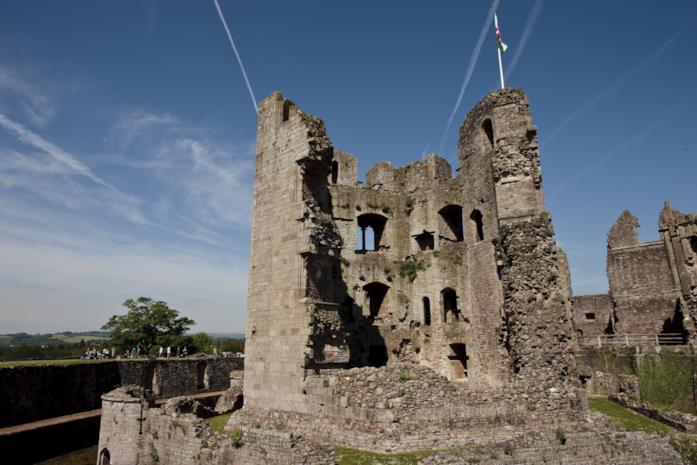 Le rovine del Castello di Candleston