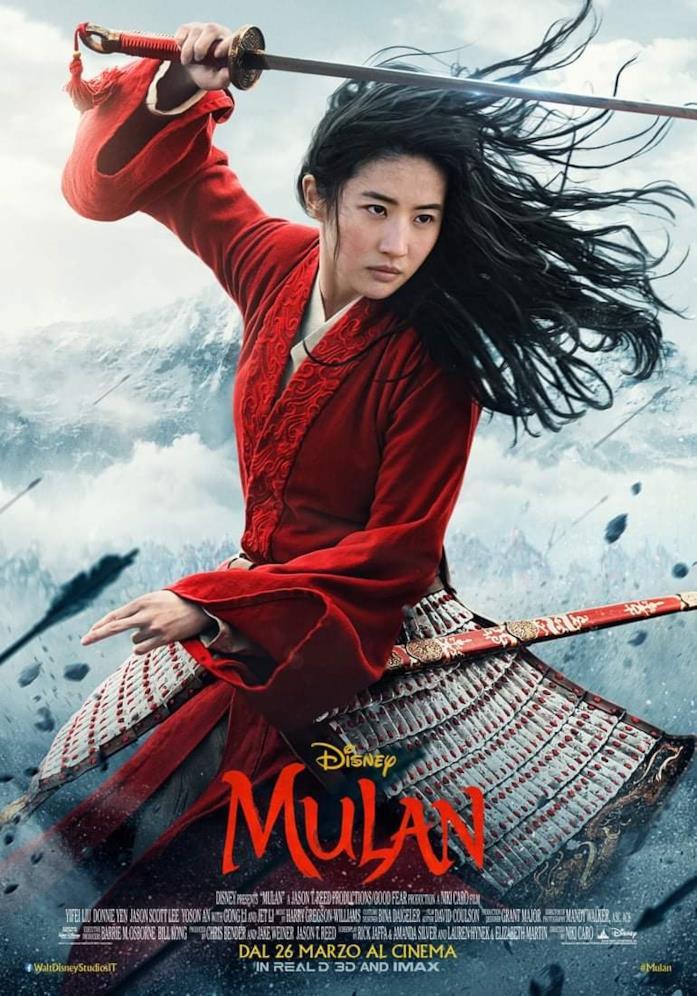 La nuova locandina italiana di Mulan