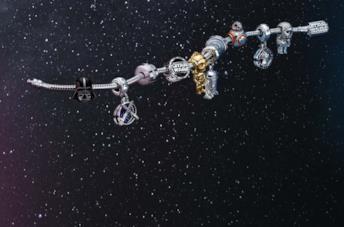 La collezione di gioielli Pandora per Satr Wars