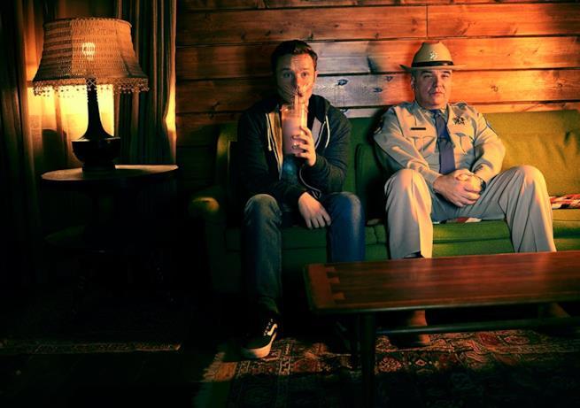 Arseface e Hugo Root nella serie TV Preacher