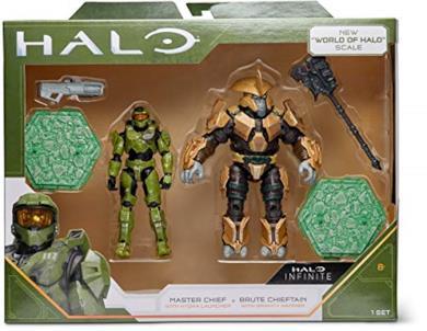 World of Halo - confezione da due action figure