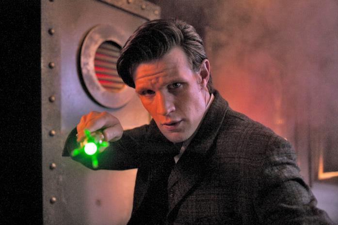Matt Smith nel ruolo dell'undicesima incarnazione del Dottore
