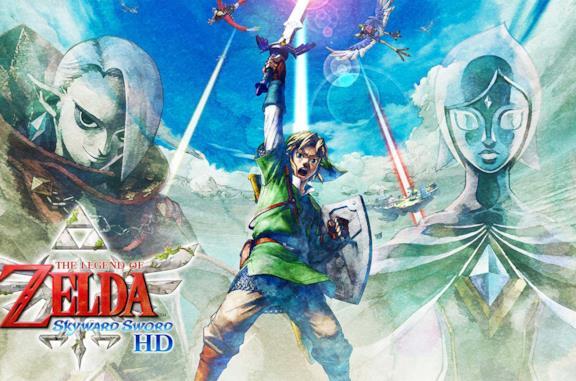 The Legend of Zelda Skyward Sword HD cover