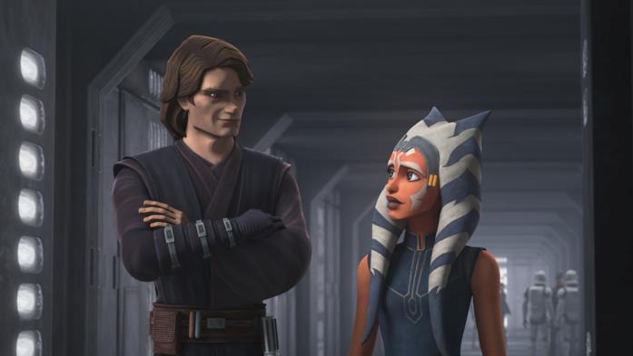 Anakin Skywalker e Ahsoka Tano