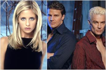 Sarah Michelle Gellar, David Boreanaz e James Marsters