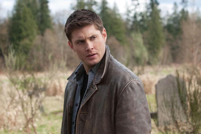 Jensen Ackles nei panni di Dean