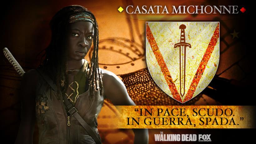 """Casata Michonne - """"In pace, scudo. In guerra, spada."""""""