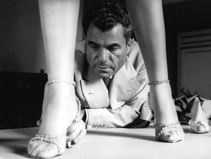 Salvatore Ferragamo in un'immagine d'archivio