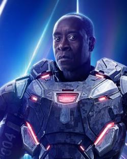 Character poster: War Machine