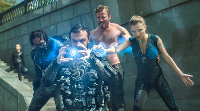 Il cast di Guardians