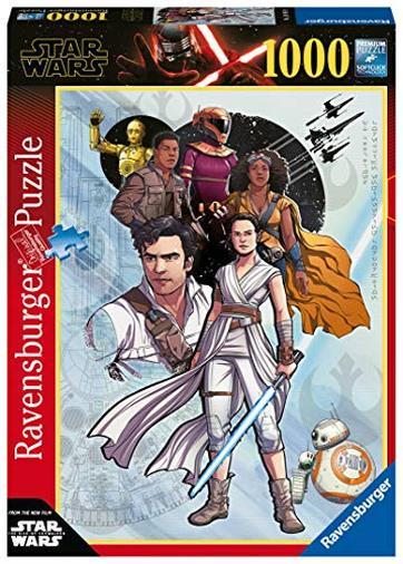 Ravensburger Star Wars 9 C Puzzle 1000 Pezzi, Disney, Multicolore, 14991