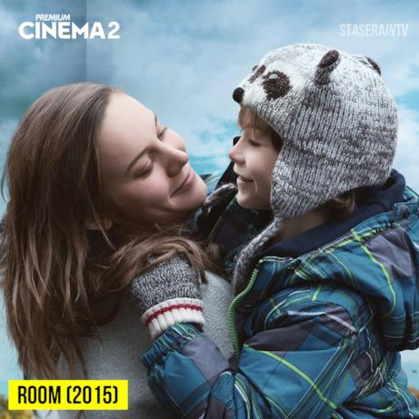 Su Premium Cinema 2 il premio oscar Room (2015) alle 21:14
