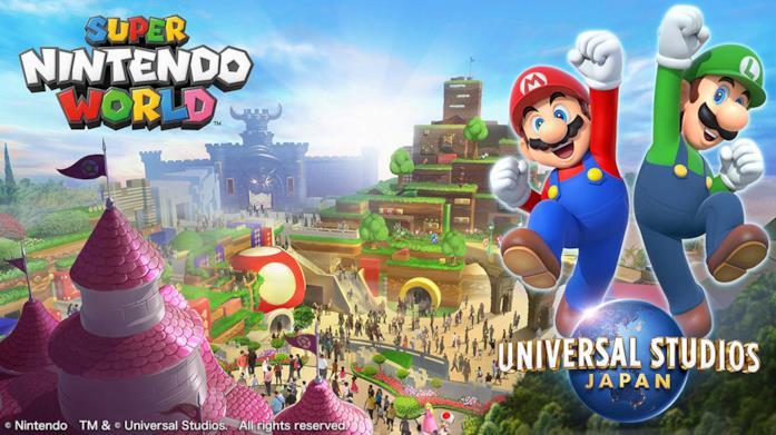 Super Nintendo World apre il 4 febbraio in Giappone