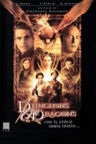 Poster Dungeons & Dragons - Che il gioco abbia inizio