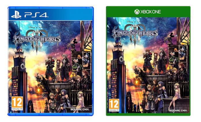 Kingdom Hearts 3 per PS4 e Xbox One