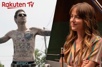 Da sinistra: fermo immagine da Il Re di Staten Island e fermo immagine da L'assistente della Star