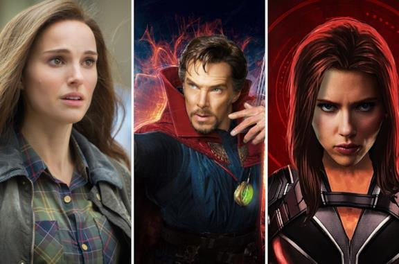 Jane Foster, Doctor Strange e Vedova Nera
