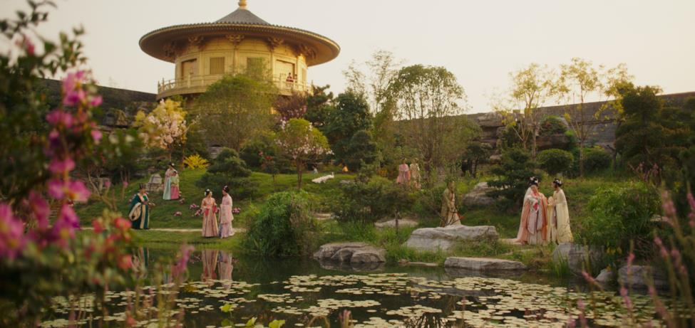Il meraviglioso giardino di Mulan