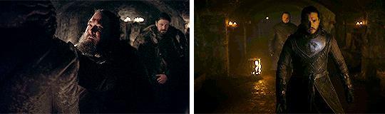 La Cripta di Grande Invenro in GoT 1x01 e 8x01