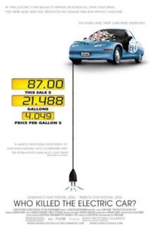 Poster Chi ha ucciso l'auto elettrica? - Un giallo che si tinge d'oro nero