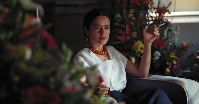 Salma Hayek interpreta la pittrice Frida