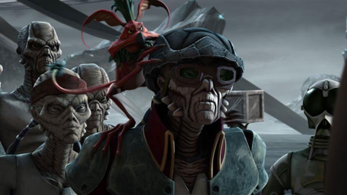 Hondo Ohnaka e i suoi pirati in versione animata
