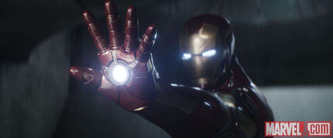 Iron Man si prepara a combattere in Capitan America: Civil War