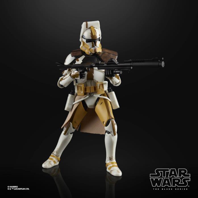 L'action figure di Star Wars Black Series Clone Commander