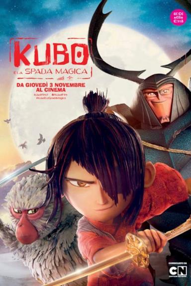 Poster Kubo e la spada magica