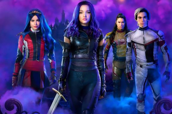 I protagonisti di Descendants 3