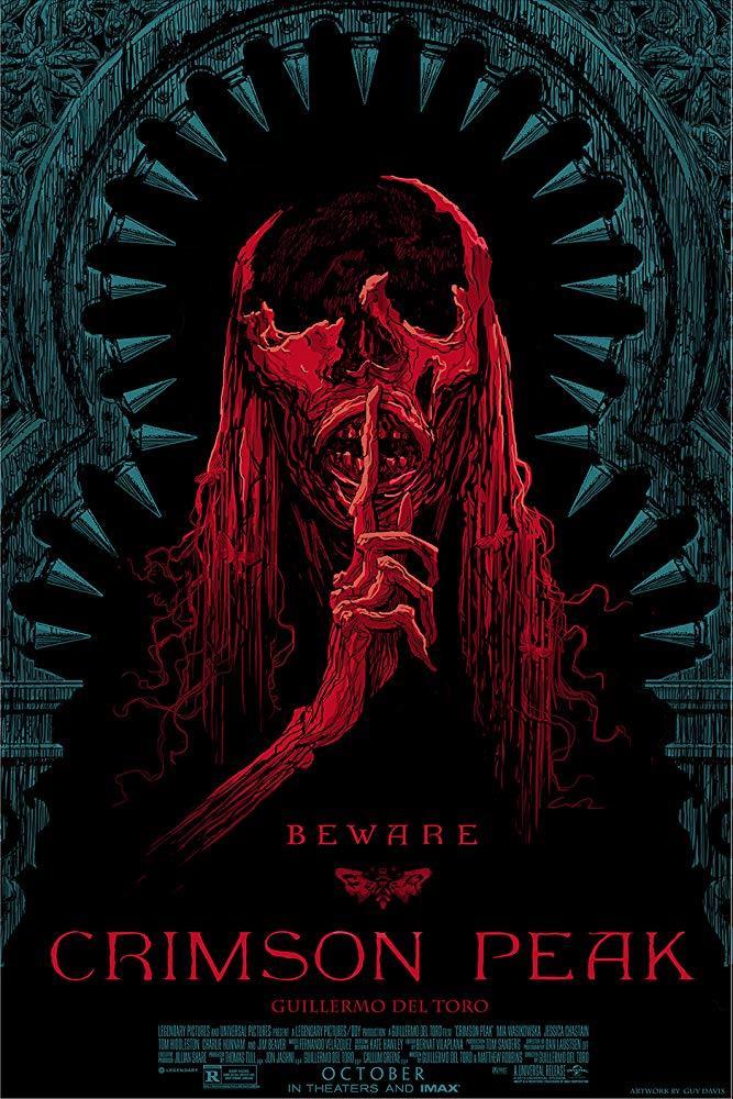 Crimson Peak: poster con uno degli spiriti