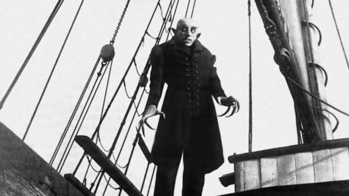 Nosferatu, l'orrendo vampiro, a bordo di una nave