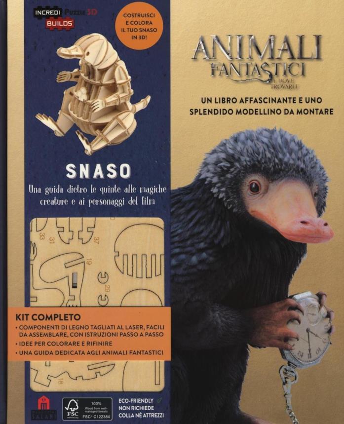 Snaso. Animali fantastici e dove trovarli. Una guida dietro le quinte alle magiche creature e ai personaggi del film. Edizione a colori
