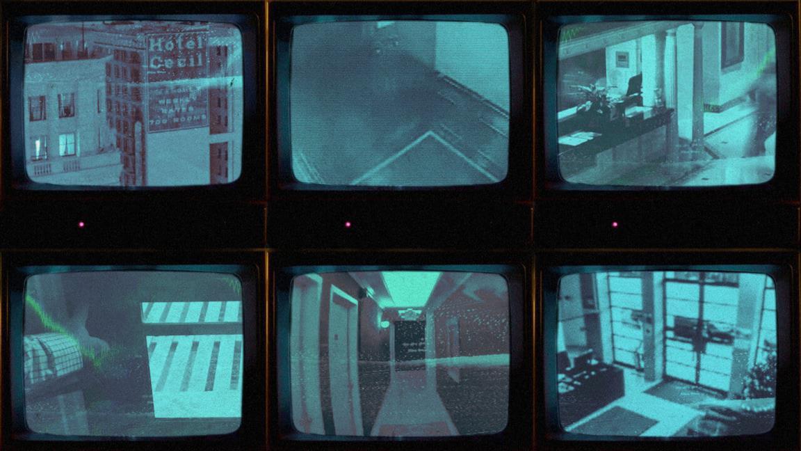 Immagine promozionale della docuserie Netflix, Sulla scena del delitto: Il caso del Cecil Hotel